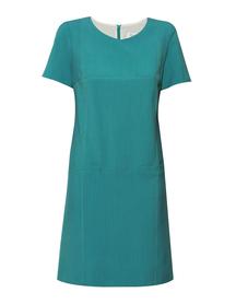 Sukienka trapezowa  morska zieleń