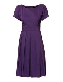 Sukienka  letnia  bawełniana z zakładkami