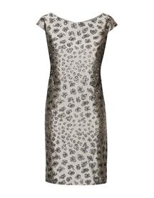 Sukienka z tafty srebrnej haftowanej