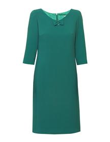 Sukienka kokardka zielona