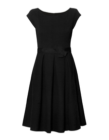Sukienka czarna żakardowa