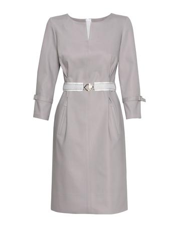 Sportowa sukienka z bawełny- szara (3)