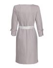 Sportowa sukienka z bawełny- szara (4)