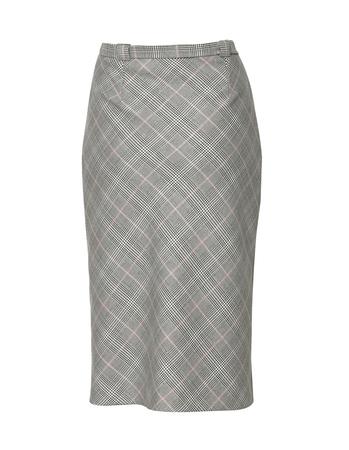 Spódnica klasyczna - skośna krata (5)