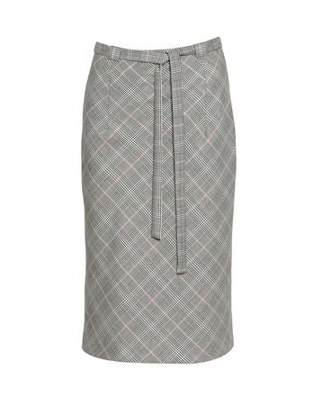 Spódnica klasyczna - skośna krata (4)