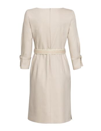Sukienka sportowa bawełniana beżowa (4)