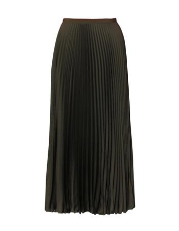Spódnica plisowana khaki (2)