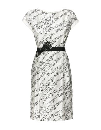 Sukienka z haftowanego szantungu z jedwabiu. (1)