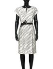 Sukienka z haftowanego szantungu z jedwabiu. (3)