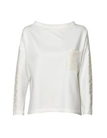 Bluza z dzianiny- kolor mleczny