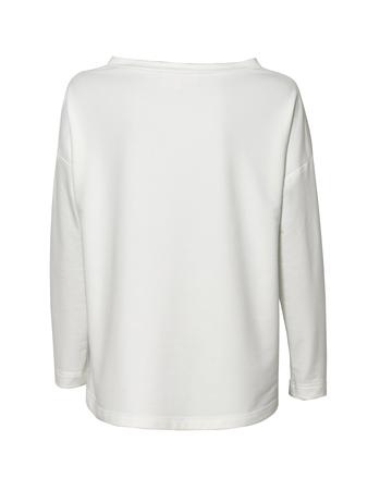 Bluza z dzianiny- kolor mleczny (2)