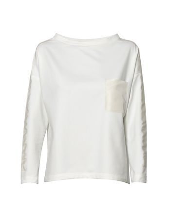 Bluza z dzianiny- kolor mleczny (1)