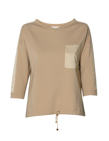 Elegancka bluza sportowa -camelowa (4)