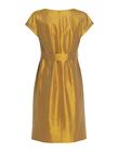 Sukienka z jedwbnego szantunguw kolorze miodowym (2)