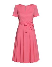 Sukienka  z bawełny organicznej- róż