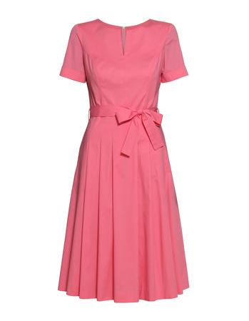 Sukienka  z bawełny organicznej- róż (1)