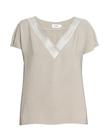 Bluzka z przewiewnej tkaniny z efektownym dekoltem (1)