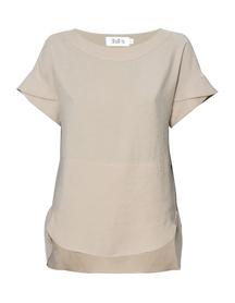 Bluzka z przewiewnej tkaniny -  jasno beżowa