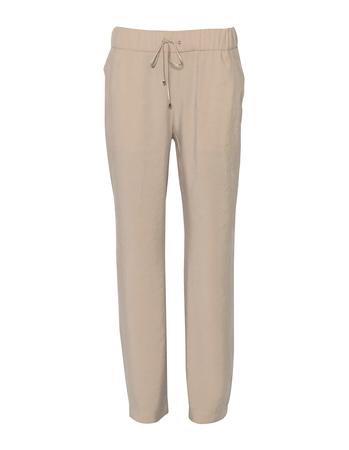 Spodnie z przewiewnej tkaniny - jasny beż (1)