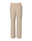 Spodnie z przewiewnej tkaniny - jasny beż (2)