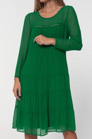 Swobodna szyfonowa- zielona