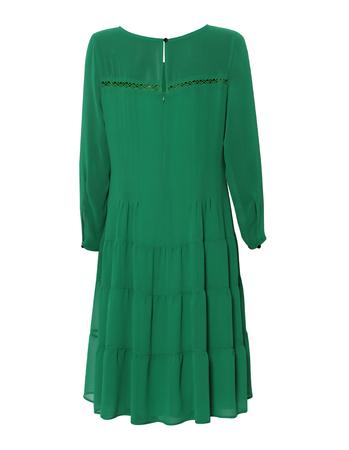 Swobodna szyfonowa- zielona (2)