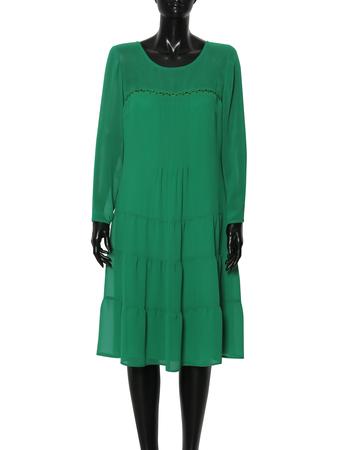 Swobodna szyfonowa- zielona (3)