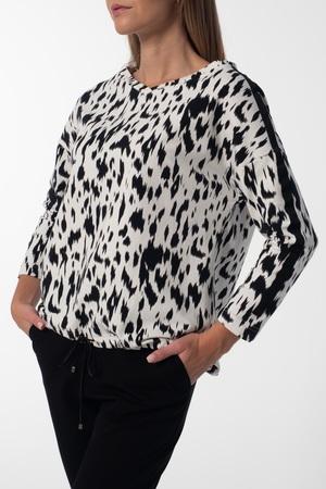 Swobodna bluza z bawełny (3)