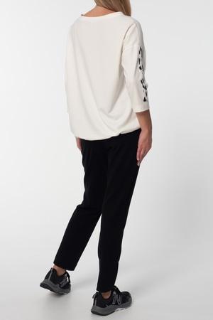 Bluza w kolorze mlecznym z dodatkami (3)