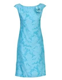 Sukienka jedwabna żakardowa