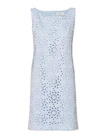Sukienka wycinanki błękitna