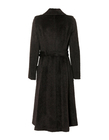 Płaszcz ciemnobrązowy z wysokogatunkowej tkaniny (2)