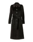 Płaszcz ciemnobrązowy z wysokogatunkowej tkaniny (1)