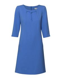 Sukienka trapezowa niebieska