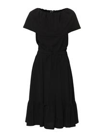 Sukienka czarna  z falbanami