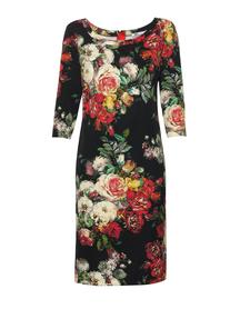 Sukienka z nadrukiem bukietów kwiatów