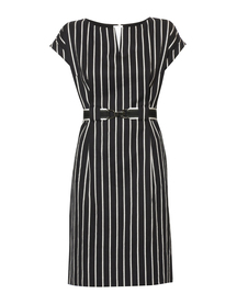 Bawełniana sukienka w pionowe pasy