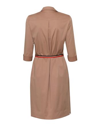 Bawełniano-wiskozowa sukienka z kołnierzykiem (2)