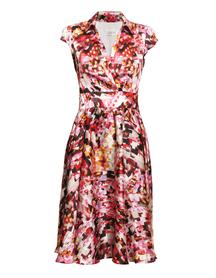 Sukienka z listwą kolorowa