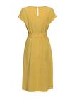 Sukienka z przewiewnej tkaniny - żółta (4)
