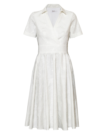 Sukienka z bawełny z listwą (3)