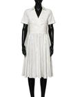 Sukienka z bawełny z listwą (5)