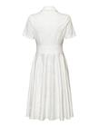 Sukienka z bawełny z listwą (4)