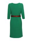 Sukienka z patkami - zielona (2)