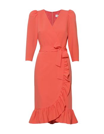 Fantazyjna sukienka koralowa (1)