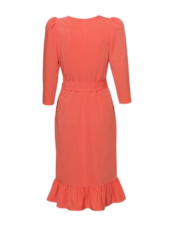 Fantazyjna sukienka koralowa (2)