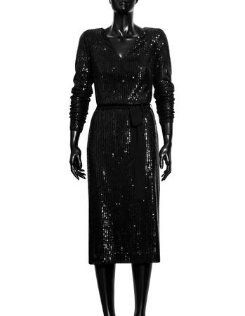 Wizytowa cekinowa - czarna (3)