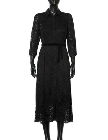 Szmizjerka  z koronki - czarna (3)