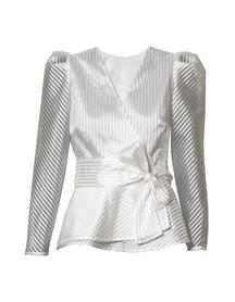 Wizytowa fantazyjna biała bluzka